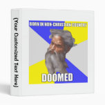 Troll God Doomed Vinyl Binder