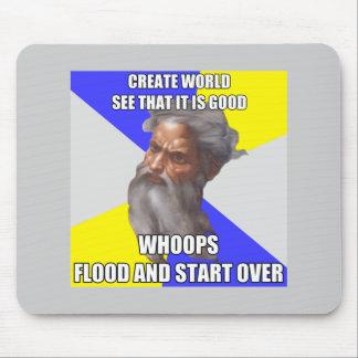 Troll God Flood Mouse Pad