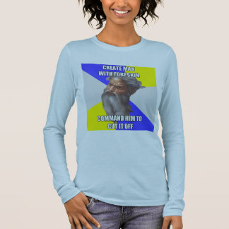 Troll God Foreskin Long Sleeve T-Shirt