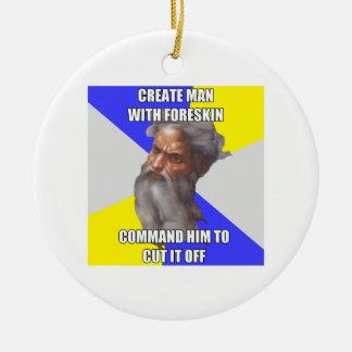 Troll God Foreskin Ornaments