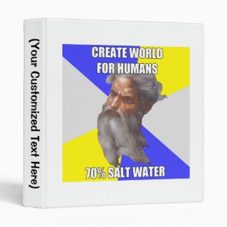 Troll God Saltwater 3 Ring Binder