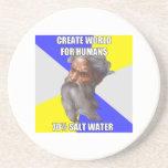 Troll God Saltwater Drink Coasters