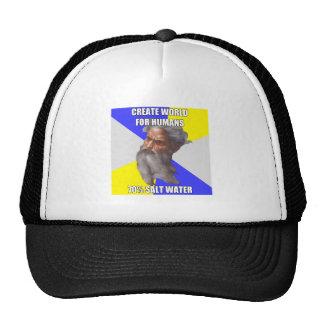 Troll God Saltwater Trucker Hat