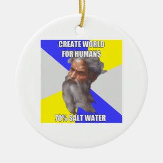 Troll God Saltwater Christmas Tree Ornaments