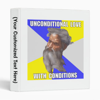 Troll God Unconditional Love Binder