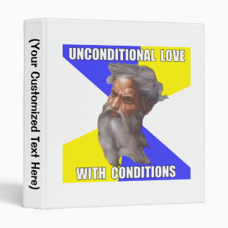 Troll God Unconditional Love Binders