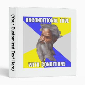 Troll God Unconditional Love Vinyl Binders