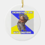 Troll God Unconditional Love Christmas Ornaments