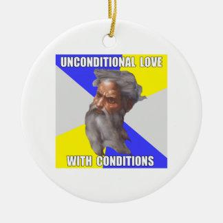 Troll God Unconditional Love Christmas Ornaments
