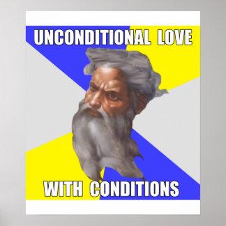 Troll God Unconditional Love Print