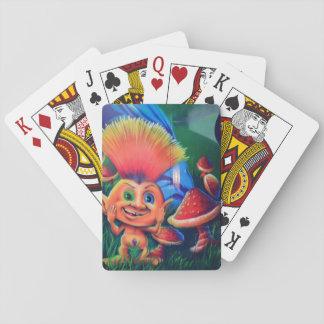 Troll Graffiti Playing Cards