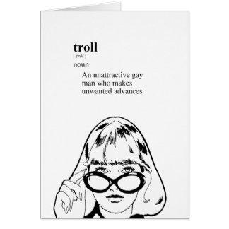 TROLL GREETING CARDS