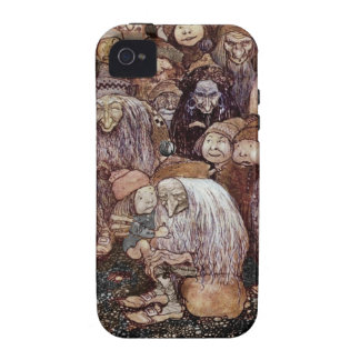 Troll Hugging Boy Gnome Vibe iPhone 4 Cover