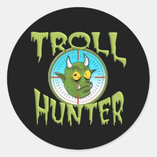 TROLL HUNTER ROUND STICKER