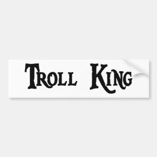 Troll King Bumper Sticker