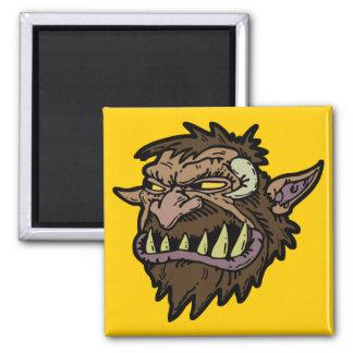troll fridge magnet