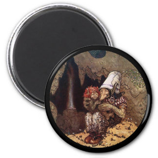 Troll Mother and Child by Campfire Magnet