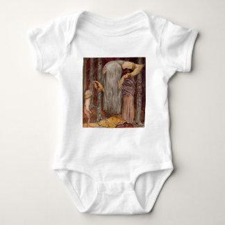 Troll Offering a Little Branch Baby Bodysuit