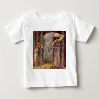 Troll Offering a Little Branch Baby T-Shirt