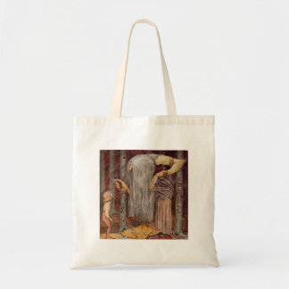 Troll Offering a Little Branch Tote Bag