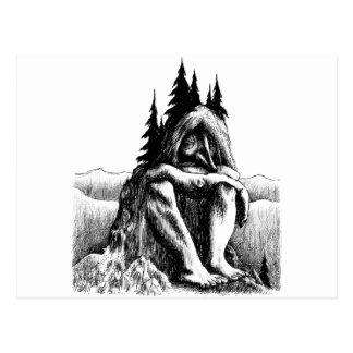 troll postcard