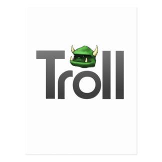Troll Post Card