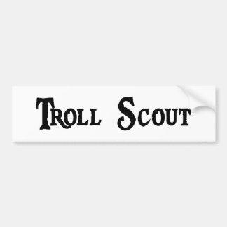 Troll Scout Bumper Sticker