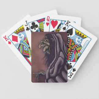 troll witch fantasy cards bicycle playing cards