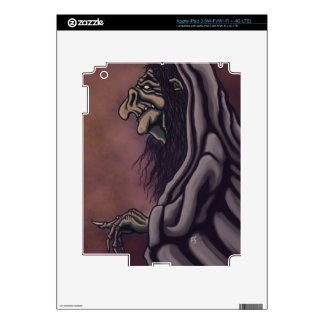 troll witch decal for iPad 3