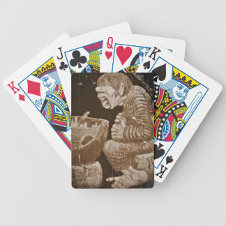 Troll with Giant Cauldron Bicycle Playing Cards
