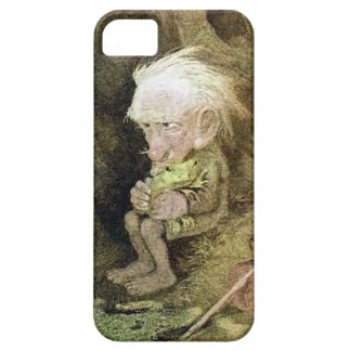 Troll with his Pet Frog (Detail) iPhone 5 Case