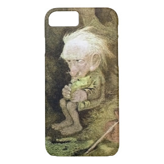 Troll with his Pet Frog (Detail) iPhone 7 Case