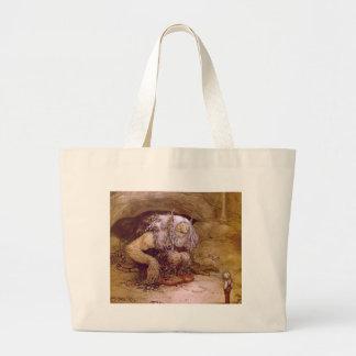 Troll with Little Boy Bags