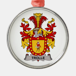 Trolle Family Crest Ornaments