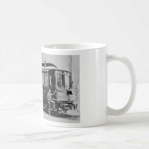 Trolley 7281 - The Special Classic White Coffee Mug