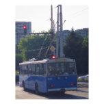 Trolley Bus In Bulgaria Letterhead