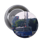 Trolley Bus In Bulgaria Pins