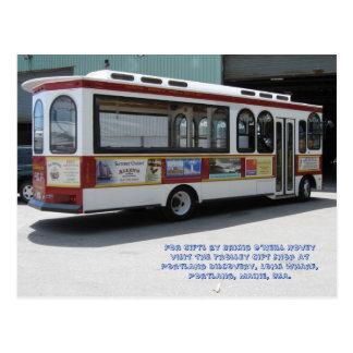 Trolley by Brigid O'Neill Hovey Postcard
