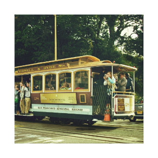 Trolley / Cable Car Canvas Print