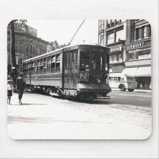 Trolley in Wilkes-Barre Mousepad