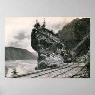 Trolley, Niagara Falls 1906 Vintage Poster