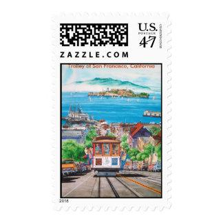 TROLLEY OF SAN FRANCISCO=jpec, Trolley of San F... Postage