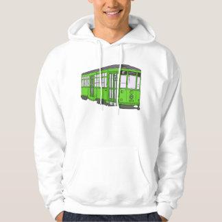 Trolley Trolleybus Streetcar Tram Trolleycar Cars Hoodie