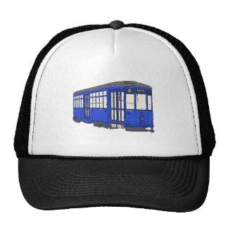 Trolley Trolleybus Streetcar Tram Trolleycar Cars Trucker Hat