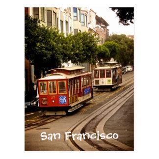 Trolleys San Francisco Postcard