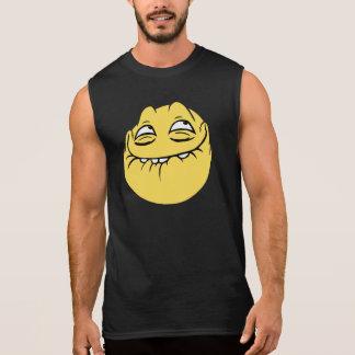 Trollface Sleeveless T-shirts