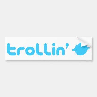 Trollin Bumper Sticker