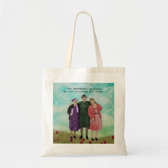 Trolling For Studs Totebag Tote Bag