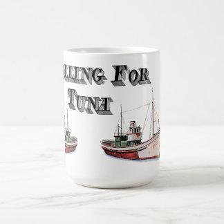 Trolling For Tuna Drink Receptical! Coffee Mug