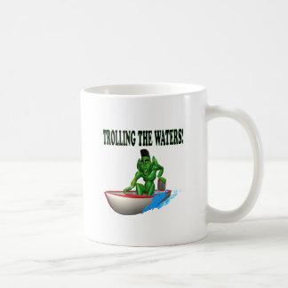 Trolling The Waters Classic White Coffee Mug